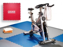 All-In Sport: Een resistente vloerbedekking voor de hoogste eisen in fitnessstudio's. De vloer isoleert tegen vocht, geluid en hitte, werkt antibacteri...