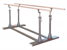 All-In Sport: <div style=line-height: 150%; margin-bottom: 15px;>Een brug is een must in elke sporthal/gymzaal. De leggers van de parallele brug zijn...