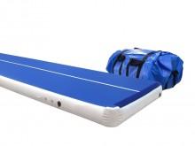 All-In Sport: Die AirTrack P3 ist eine mit Luft gefüllte Universalbahn mit einer komplett glatten Oberfläche, auf der sowohl kleine als auch große Spri...