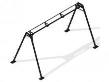 All-In Sport: Trainingsframe voor het aanbrengen van diverse Slingtrainers, rubberbanden, licht boks-equipment of inzetbaar als functionele krachttrain...