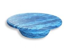 All-In Sport: Ideaal voor therapie en revalidatie. Balanceerplank met schuimstof beklede houten plaat en schuimstof poot. Anti-slip door wafelstructuur...