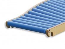 All-In Sport: Die Seitenteile der Walze bestehen aus Multiplexholz und werden an die Holme der Rollenrutschbahn fest arretiert, können aber auch leicht...