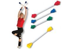 All-In Sport: Entwickelt nach der Knies®-Methode. Elastische Gummiformteile mit Glasfaserstab. Für rhythmische Sportgymnastik, Motorik, Fitness.