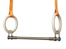 All-In Sport: Met verrassend eenvoudige en snelle montage. De veilige vergrendeling van de trapezestok staat snel en flexibel handelen toe tijdens de g...