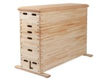 All-In Sport:  Kasten van geselecteerd noestvrij massief hout en hoogwaardig kernrundleer. De juiste verwerking van alle materialen zorgt voor een lang...