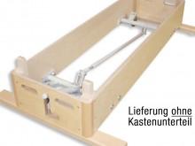 All-In Sport: voor springkasten BASIC + KLASSIEK. De levering bestaat uit een frame/stangenconstructie met aan een korte zijde een uittrekbare bedienin...