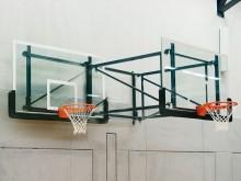 All-In Sport: Zijwaarts zwenkbaar, excl. bord, ring en net, excl. bedieningsstang.