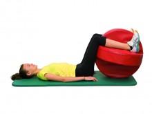 All-In Sport: <p>De Plus Ball® is de doorontwikkeling van de therapiebal en biedt meerdere voordelen t.o.v. een conventionele gymnastiekbal. De abs...