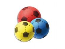 All-In Sport: Ideaal voor het spelen zonder blessuregevaar. Deze bal loopt nooit leeg. Kleuren rood/geel/blauw assorti.