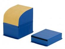 All-In Sport: 3-delige springtafel van schuim met PVC hoes, bestaand uit 2 modules van hardschuim 50 cm en 25 cm hoog en een halfrond schuimelement 50 ...