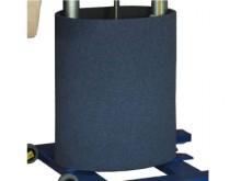 All-In Sport: Bodenturnmatte 25 mm, mit Klettverschluss zum einfachen Befestigen an dem Bänfer® Sprungtisch ST-6.