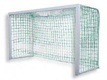All-In Sport: Met nieuwe, gepatenteerde hoekverbinding. Vrijstaand doel. Doelframe en netbeugels van aluminium. De gepatenteerde stalen hoekverbinding ...