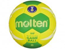 All-In Sport: Absolute top wedstrijdbal en IHF special edition in Rio-design. Het zeer zachte synthetisch leer in combinatie met een softe onderconstru...