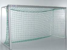 All-In Sport: 300 x 160 cm, boven 80 cm – onder 100 cm, groen, maaswijdte 10 cm. Levering per paar.
