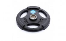All-In Sport: <p>50 mm halterschijf van Polyurethaan Zwart 10 kg</p> <p></p> <p>10 kg Halterschijf van Polyurethaan, duurzamer dan rubberen of ...