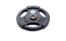 All-In Sport: <p>50 mm halterschijf van Polyurethaan Zwart 15 kg</p> <p></p> <p>15 kg Halterschijf van Polyurethaan, duurzamer dan rubberen of ...