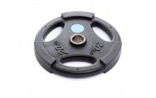 All-In Sport: <p>50 mm halterschijf van Polyurethaan Zwart 20 kg</p> <p></p> <p>20 kg Halterschijf van Polyurethaan, duurzamer dan rubberen of ...