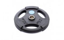 All-In Sport: <p>50 mm halterschijf van Polyurethaan Zwart 25 kg</p> <p></p> <p>25 kg Halterschijf van Polyurethaan, duurzamer dan rubberen of ...