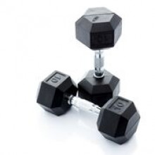 All-In Sport: <p>Hexagonale Dumbbellset 1 - 10 kg</p> <p></p> <p>1 - 10 kg: 10 paar hexa dumbbells (stapgrootte van 1 kg) Hexa dumbbells met ee...