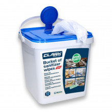 All-In Sport: <p>Hygiënebucket 375 doekjes (50% alcohol)</p>