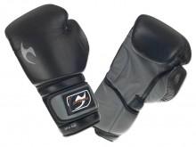 All-In Sport: Solide, betrouwbare bokshandschoenen voor starters van zwart PU-kunstleer. De handschoenen zijn geschikt voor thuistraining als ook voor ...
