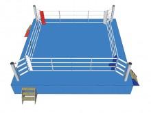 All-In Sport: AIBA-gecertificeerde wedstrijd boksring voor boks-manifestaties op het allerhoogste niveau. Ringmaat 7,8 x 7,8 meter. Touwvierkant 6,1 x ...