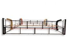 All-In Sport: De inklapbare boksringen veranderen elke ruimte in een boksarena! De inklapbare boksring brengt een unieke technische Innovatie in het be...