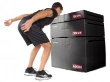 All-In Sport: Plyometrische platformen van schuimstof zijn noodzakelijk als de veiligheid bij de sprongkrachttraining op de voorgrond staat. Het softe ...