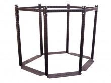 All-In Sport: Das 6-eckige Rack ist die Basis des Functional Training Towers und kann mit 23 unterschiedlichen Anbaumodulenen individuell erweitert wer...