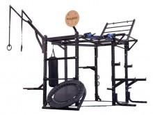 All-In Sport: Kübler Sport bietet den Functional Training Tower neben der Ausführung CLUB auch mit weniger umfangreicher Ausstattung BASIC und ADVANCED...