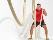 All-In Sport: Battle Ropes zijn voor de Functional Fitness en de Cross Training niet meer weg te denken. Deze zeer efficiënte trainingsartikelen voor d...