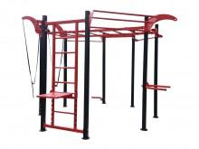All-In Sport: Met de Multi Fit Cage is een multifunctionele trainingstoren voor Functional Training, alleen of in groepen van 8 tot 12 personen. De 8-h...