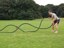 All-In Sport: Aqua-Rope maakt Rope-training mogelijk met veranderbare intensiteit. Het touw is met water of zand vulbaar en is daardoor qua gewicht var...