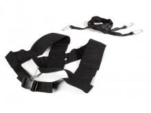 All-In Sport: Combinatie van schouder- en buikband van robuust nylon. Als aanvulling op de Trainingsslee voor trekoefeningen en voor de verbetering van...