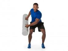 All-In Sport: De met water gevulde cilinder is een nieuwe trainingstool uit het bereik van de atletiektraining resp. het bereik van de multifunctionele...