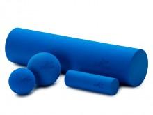 All-In Sport: De multifunctioneel inzetbare trainingsset is zeer goed voor de fasciale behandeling geschikt. De betreffende lichaamspartijen, b.v. de k...