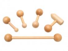 All-In Sport: Deze kleine handzame hulpmiddelen dienen ter behandeling van de Fascia. De set bestaat uit 5 verschillende sticks, die verschillende uite...