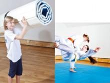 All-In Sport: Ideale trainingsmat voor scholen en verenigingen. Snelle en kinderlijk eenvoudige op- en afbouw. Geringe benodigde ruimte omdat de mat op...