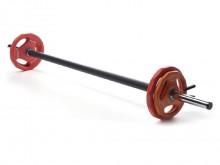All-In Sport: Langhantel-Set für das klassische Gruppenfitness-Programm in Fitness-Studios. Die hantelstange ist dank des Schaumstoffüberzuges sehr ang...