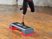 All-In Sport: Step Reebok® grijs-rood