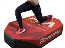 All-In Sport: Trainingsmat voor een effectieve, gewrichtsbeschermende total-bodytraining. De zachte ondergrond zorgt voor een intensieve training zoals...