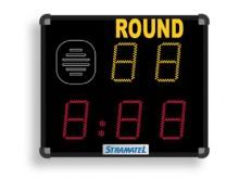 All-In Sport: Programma conform de regels van de internationale boksbond: rondenummer, timer (ronde, pauze tijd), waarderingen.  Afmeting 70 x 60 x 9 ...
