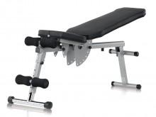 All-In Sport: Voor de training van de buikspieren en het bovenlichaam met handhalters. Individueel instelbare voetpolsters en een veelvoudig instelbare...