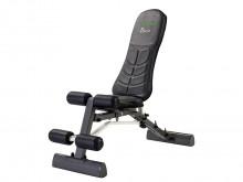 All-In Sport: Multifunctionele trainingsbank met veelzijdige verstelmogelijkheden van zitting en rugpolster. De ergonomisch gevormde rugleuning kan van...