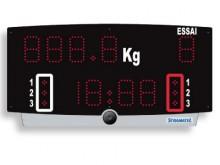 All-In Sport: Tragbare, akkubetriebene Kompaktanlage mit eingebautem Horn (90 dBa) für flexiblen, netzunabhängigen Einsatz am Kampfrichtertisch. Inklus...