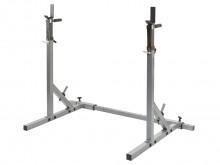 All-In Sport: Ook geschikt als haltersteun voor bankdrukken en als dipsstaanders. In hoogte verstelbare staanders van 96,5 – 161,5 cm (per 5 cm). De st...