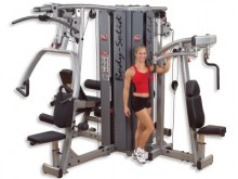 All-In Sport: De fitness-stations van de Body Solid Pro Dual serie zijn uitermate geschikt voor het gebruik in kleinere fitness-studio's. Door de combi...