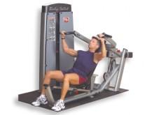 All-In Sport: Contragewicht-duwstangen met 5-voudige hoekverstelling- Ergonomische zit- /rugcombinatie met 20-voudige verstelbaarheid- Ergonomisch corr...