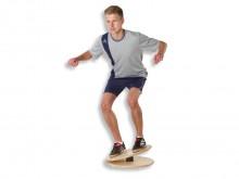 All-In Sport: Deze hoogwaardige balanceerbol blinkt uit door het zeer stabiele oefen oppervlak. Deze is de voorwaarde voor vele veilige stabiliteits- e...