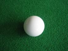 All-In Sport: Een klein wit doelballetje speciaal voor koersbal.